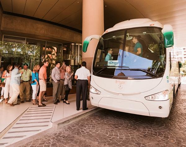 bus rental Madrid, Spain