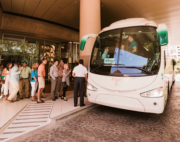 bus rental New York, USA
